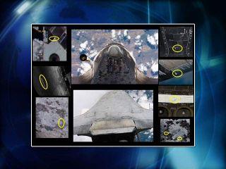 NASA Eyes Discovery Heat Shield Imagery