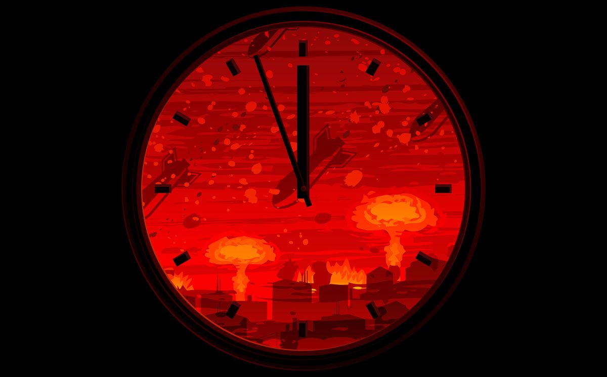 End Near Doomsday Clock Holds At 5 Til Midnight Live Science