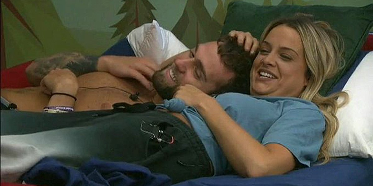 Big Brother 21 Nick cuddles with Christie before another blowout fight CBS