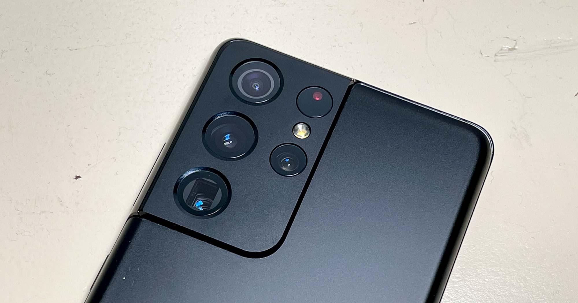 Samsung Galaxy S21 Ultra cameras