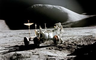 Jim Irwin during Apollo 15