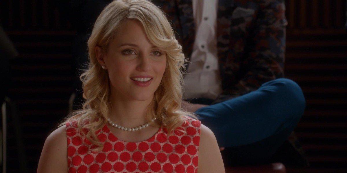 Dianna Agron as Quinn in Glee