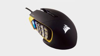 Grab this Corsair Scimitar Pro RGB MMO gaming mouse for only $50 at Amazon