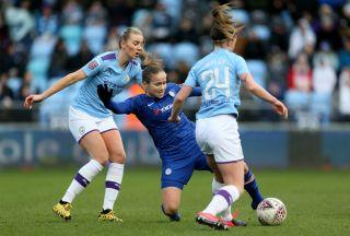 Manchester City v Chelsea – Women's Super League – Academy Stadium