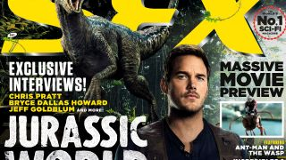 SFX magazine's Jurassic World: Fallen Kingdom cover