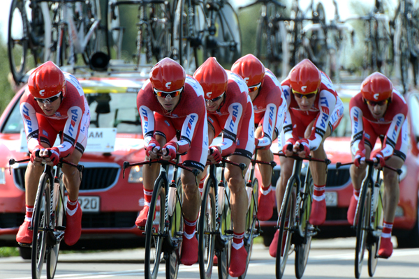 Katusha team time trial