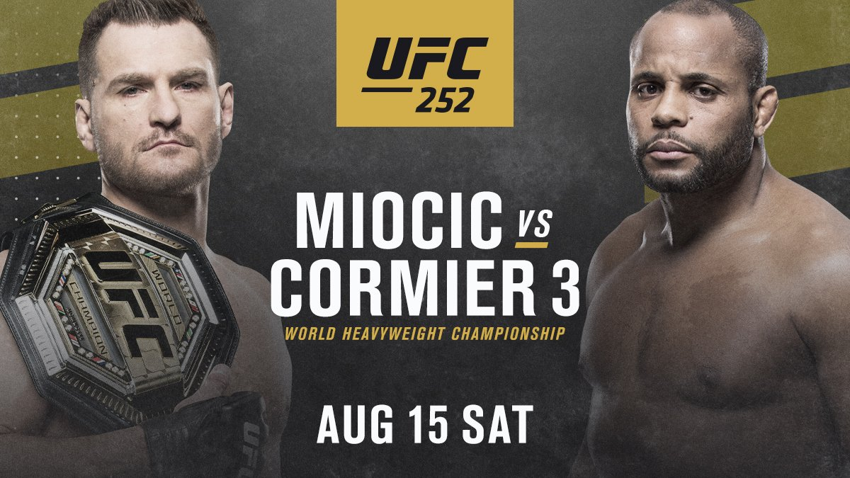 UFC live stream ESPN PPV guide: UFC 252 viewing options for Miocic ...