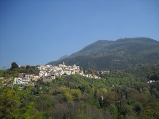 The destruction from the 2009 L'Aquila earthquake in Italy seen here in the nearby village of Casentino.