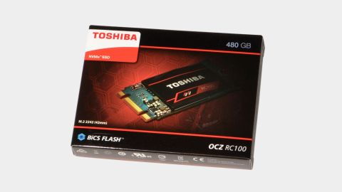 Toshiba RC100 NVMe SSD review: a tiny package with modest