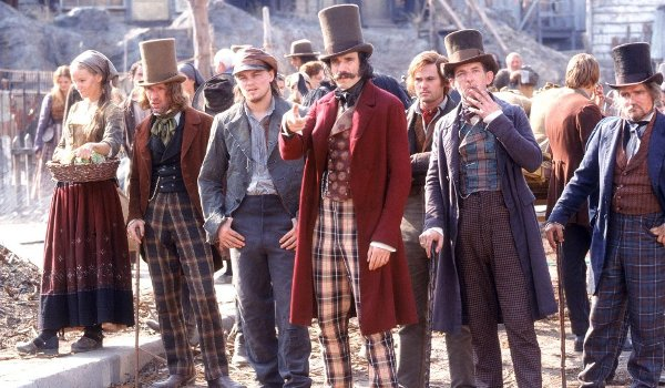 Gangs of New York Leonardo DiCaprio Daniel Day-Lewis line-up
