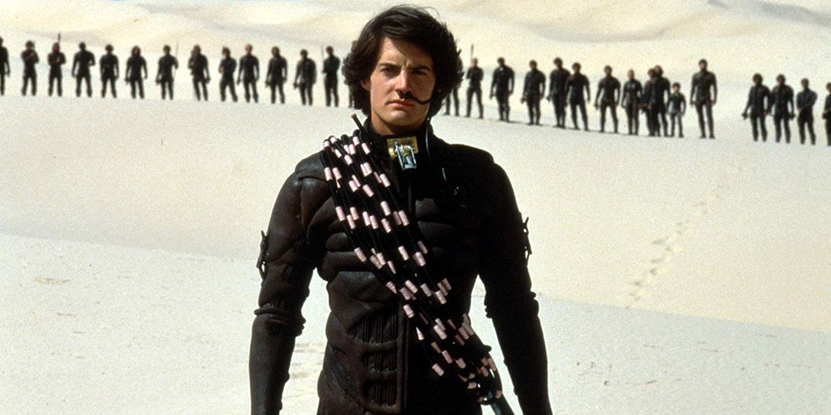 Kyle MacLachlan in David Lynch's Dune