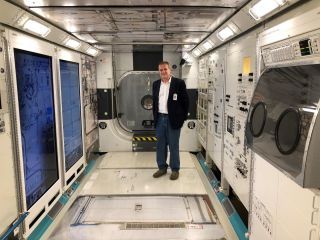 Stephan Moll and a team of NASA doctors prescribed blood clot treatment for an astronaut at the International Space Station.