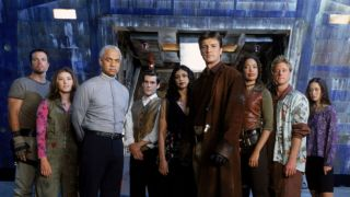 The cast of Firefly.