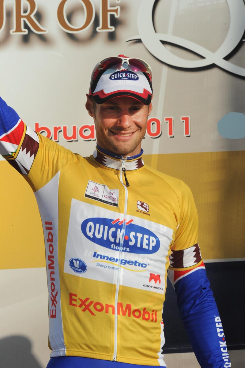 Tom Boonen takes lead, Tour of Qatar 2011, stage one