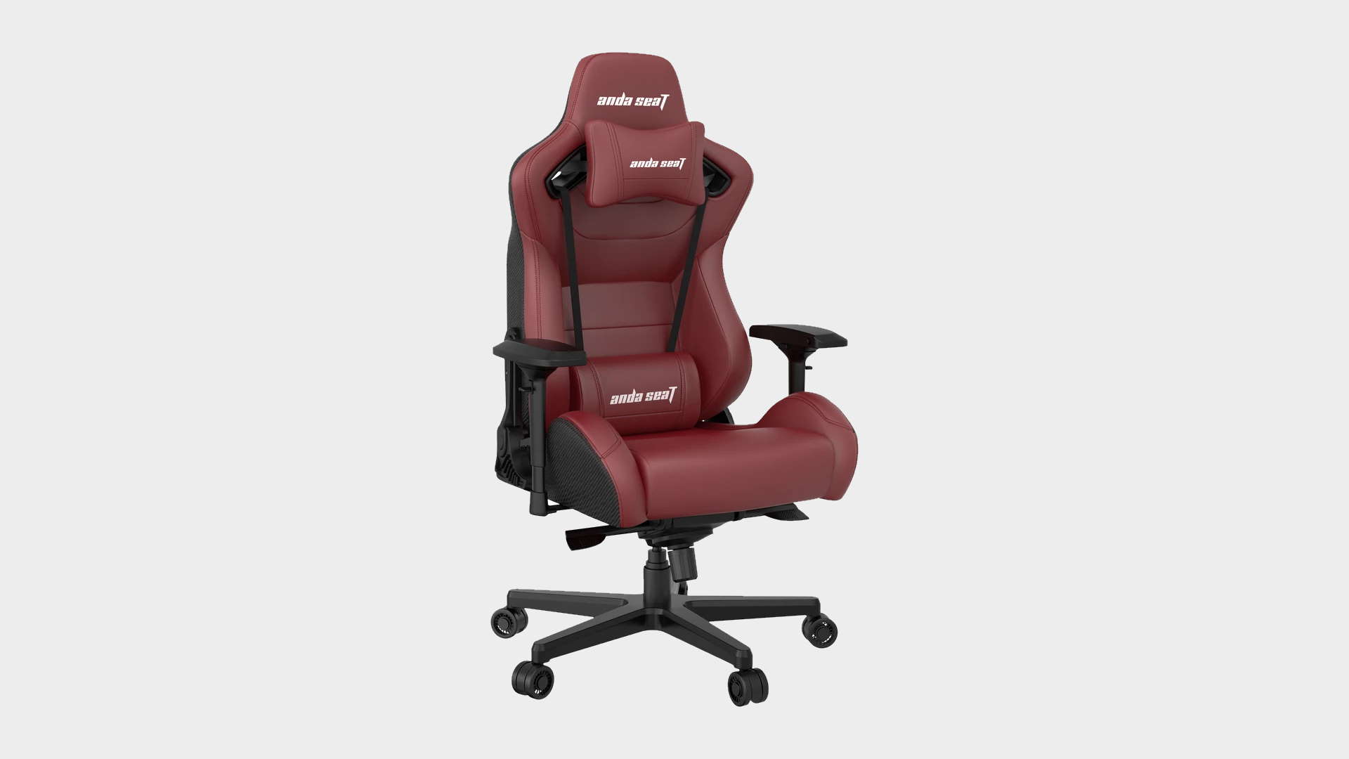 AndaSeat Kaiser 2 gaming chair in maroon
