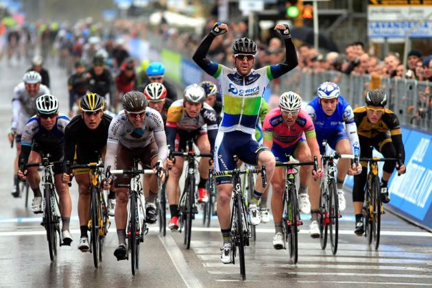 Matt Goss wins Tirreno-Adriatico 2013, stage two