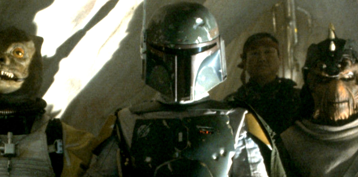 Boba Fett and other bounty hunters await orders