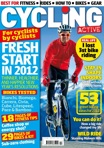 Cycling Active February 2012 issue