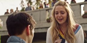 Harry Shum Jr Actually Surprised Jessica Rothe For The Adorable Flash Mob Marriage Proposal In All My Life