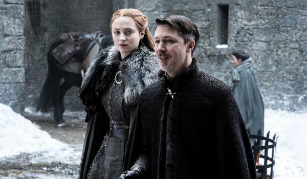Game of Thrones Littlefinger Sansa Aidan Gillen Sophie Turner HBO