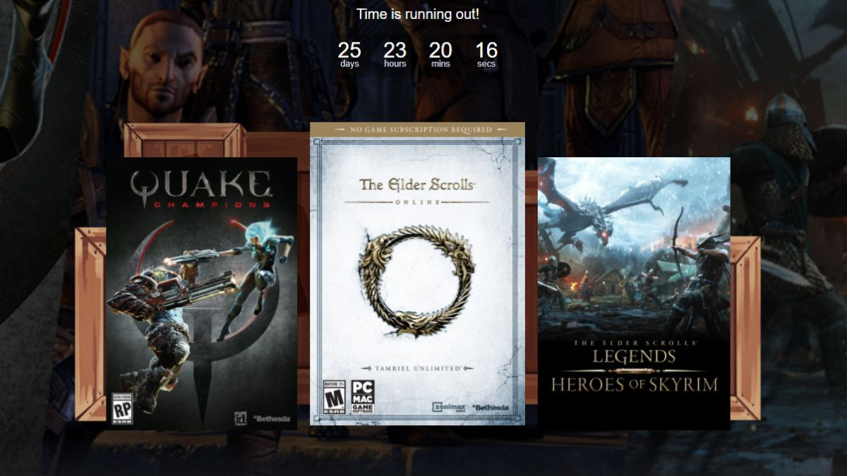Get The Elder Scrolls Online and Quake Champions for $12 in Humble