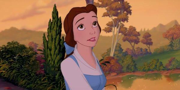 Belle begins a calm morning in her village screenshot