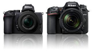 Nikon Z50 vs D7500