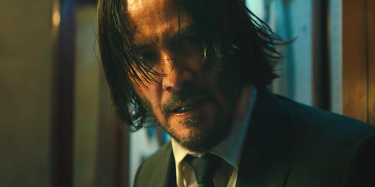 Keanu Reeves as John Wick in Chapter 3