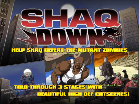 Shaq Battles Zombies In ShaqDown Mobile Game #25253