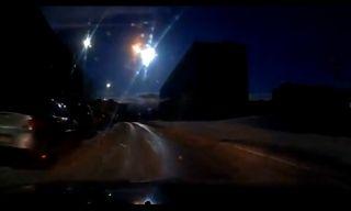 Suspected Meteorite Explosion Over Murmansk