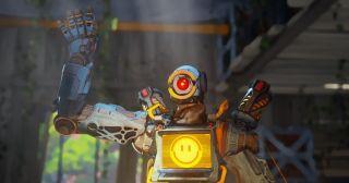 Apex Legends hero Pathfinder waving