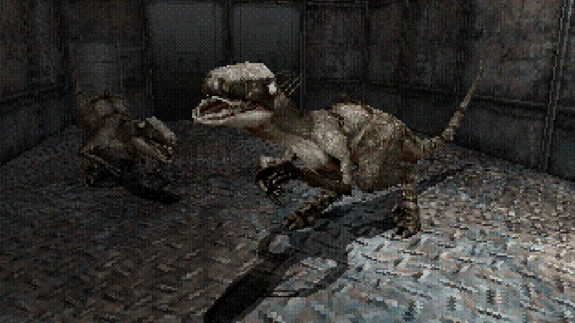 This Playstation-inspired dino-slaying FPS is straight outta 1998