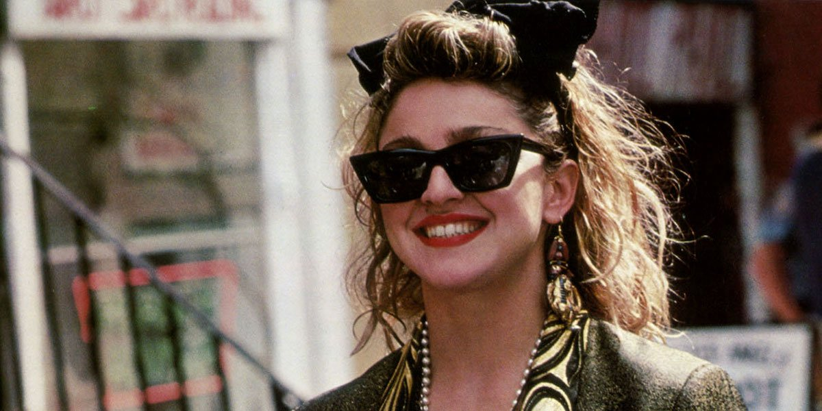Madonna in Desperately Seeking Susan