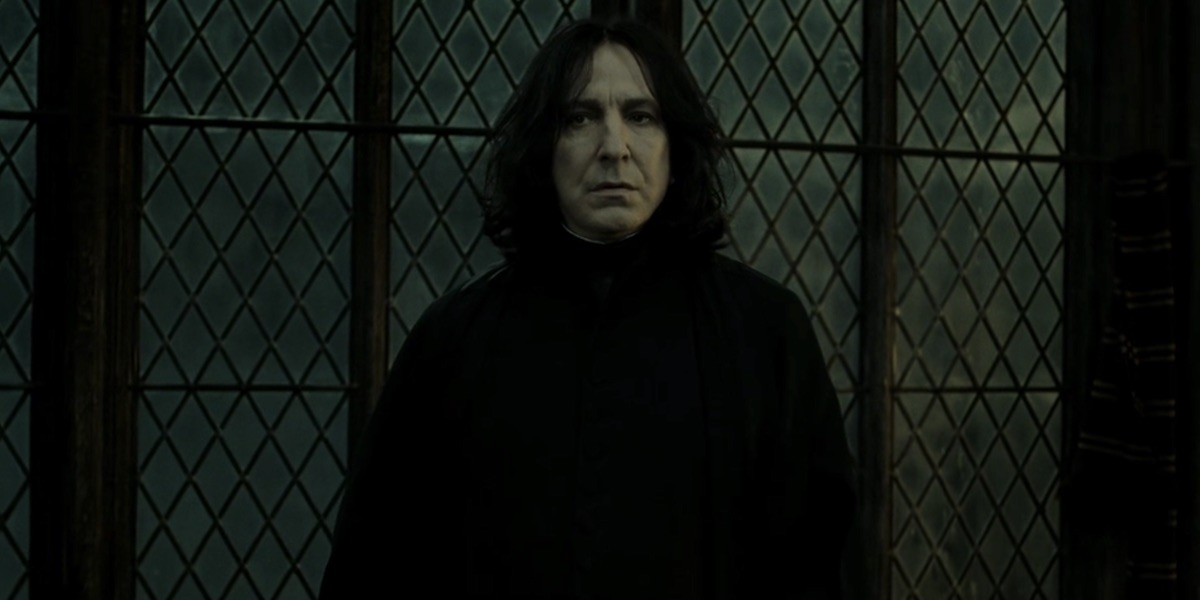 Severus Snape in Harry Potter and the Deathly Hallows Part 2