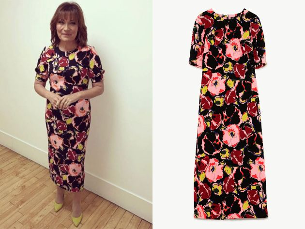 7f7fca4397ea Lorraine Kelly's High Street Dresses - from Hobbs to Zara