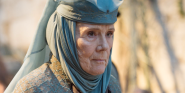 That Time Game Of Thrones' Diana Rigg Hilariously Stormed Off The Set In The Slowest Way Possible
