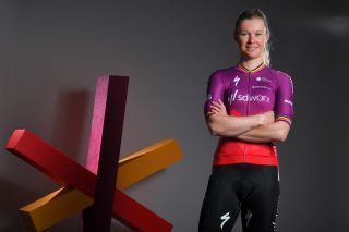 DENIA SPAIN JANUARY 07 Jolien Dhoore of Belgium and Team SD Worx poses during the Team SD Worx 2021 Training Camp teamsdworx on January 07 2021 in Denia Spain Photo by Luc ClaessenGetty Images