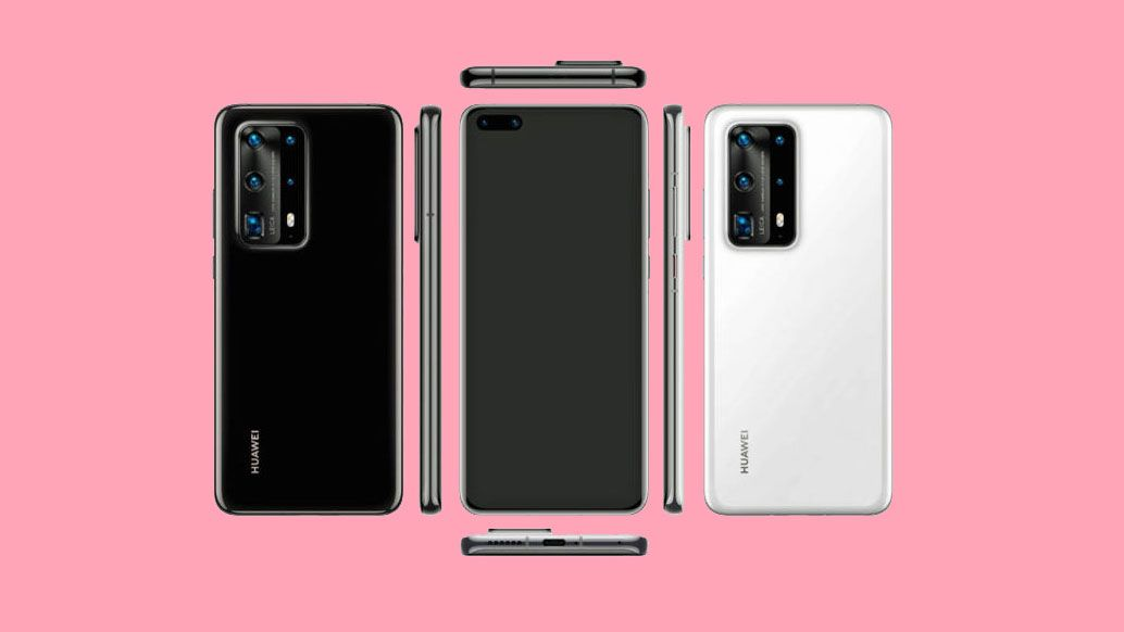 New Huawei P40 Pro images leak with five cameras and a ceramic body