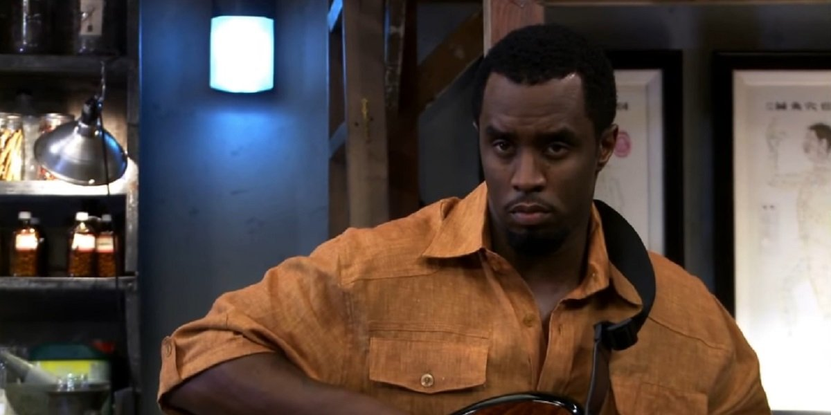 P-Diddy on It's Always Sunny in Philadelphia as Dr. Jinx