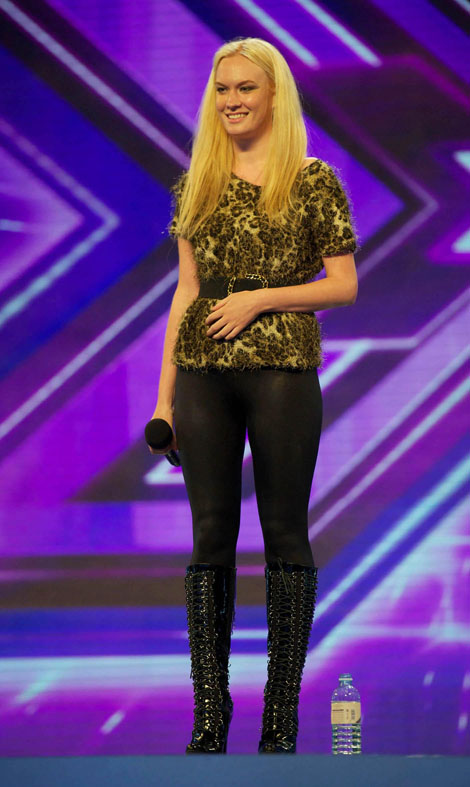 Kitty Brucknell's mum in X Factor quit row
