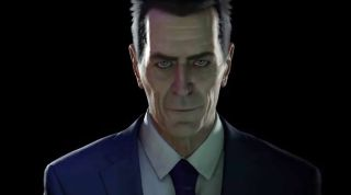 G-Man in Half-Life: Alyx