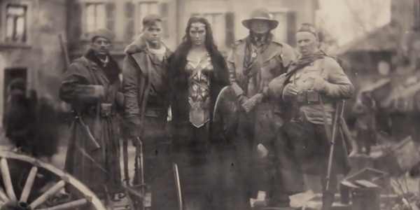 Wonder Woman group photo