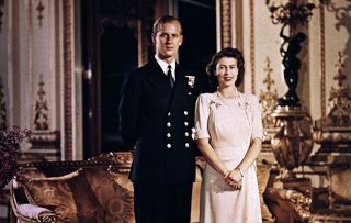 Prince Philip and Princess Elizabeth Inside the Crown: Secrets of the Royals