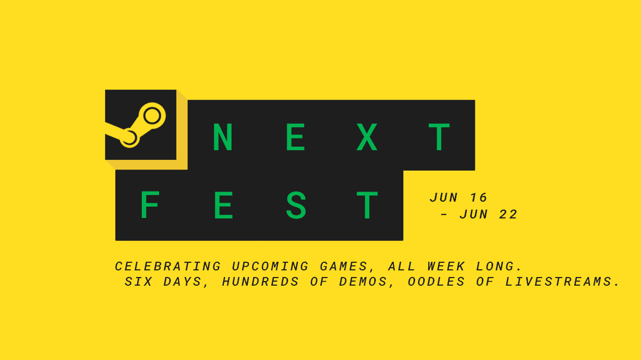 Steam Next Fest wants to compete with E3