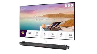LG Unveils Wallpaper OLED TV for Hotels