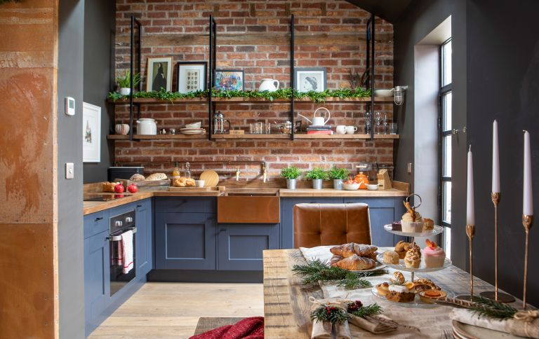 With its rustic character and cosy interior, Karen and Adam Griggs' former worker's cottage comes into its own at Christmas