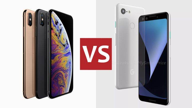 iPhone Xs vs Google Pixel 3
