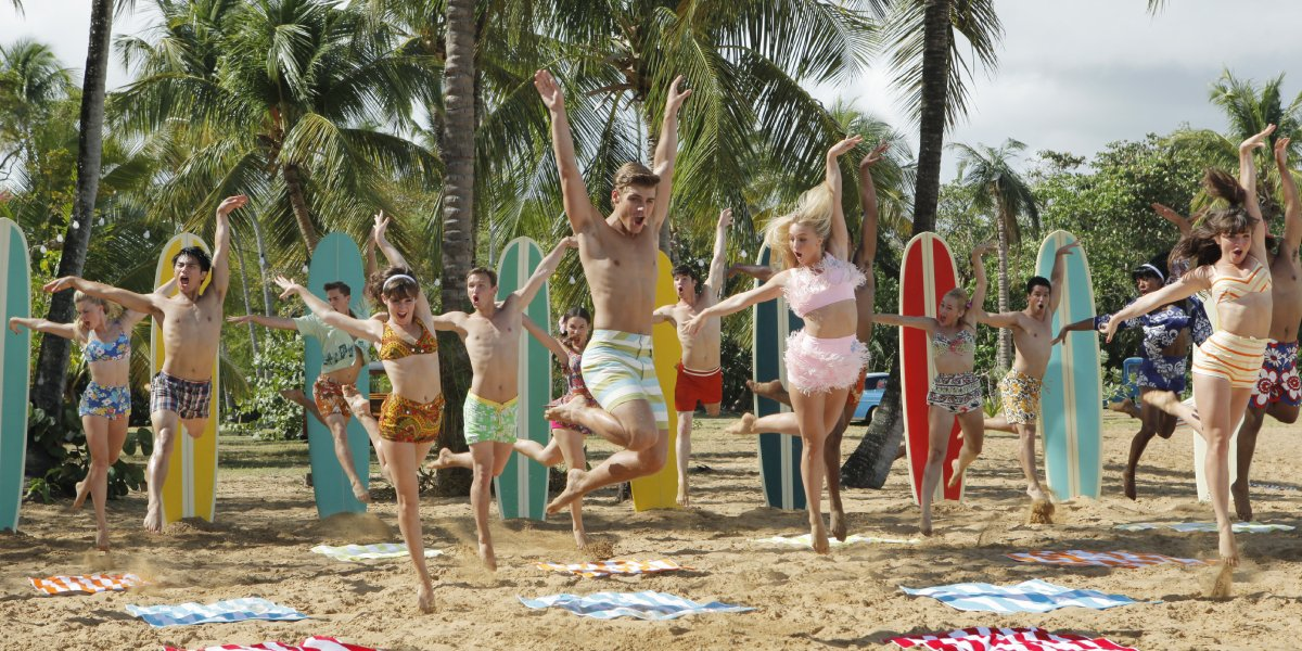 The cast of Teen Beach Movie