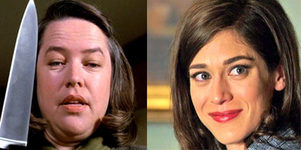 Kathy Bates in Misery Lizzy Caplan in Masters of Sex