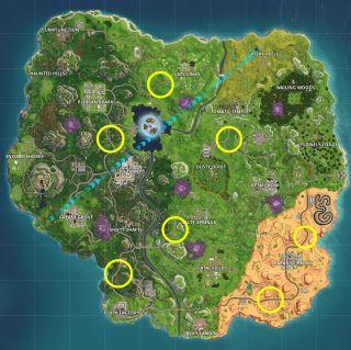 Fortnite Radar Signs Locations For All Seven Pc Gamer